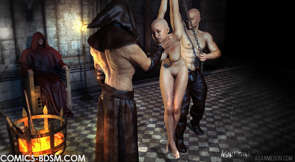 The Inquisition 2 - Girl's screams pierced the air